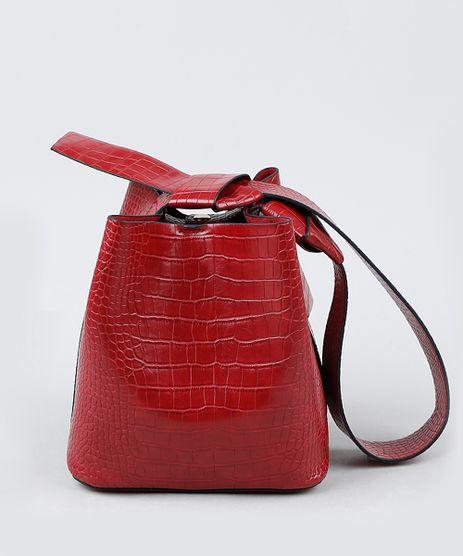 Bolsa-Feminina-Bucket-Grande-Croco-com-Alca-e-Laco-Vinho-9845458-Vinho_1