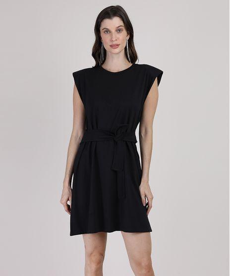 Vestido-Muscle-Dress-Feminino-Mindset-Curto-com-Ombreiras-e-Faixa-para-Amarrar-Sem-Manga-Preto-9949425-Preto_1