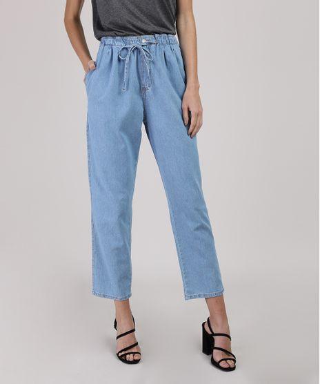 Calca-Jeans-Feminina-Baggy-Cintura-Media-Azul-Claro-9944964-Azul_Claro_1