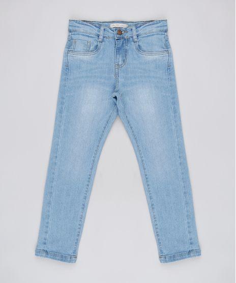 Calca-Jeans-Infantil-Slim-com-Bolsos-Azul-Claro-9927848-Azul_Claro_1