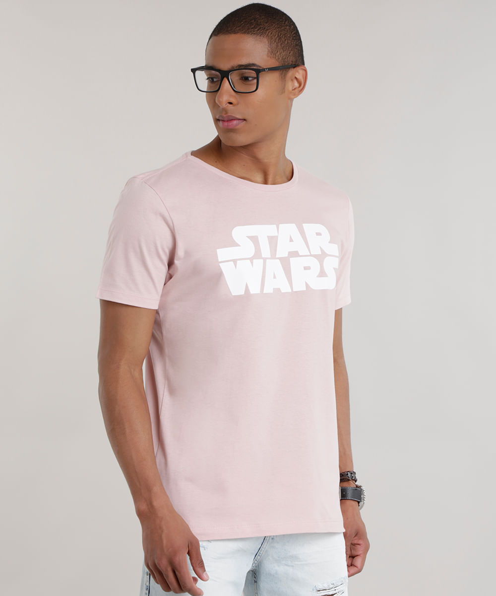 ... Camiseta-Longa-Star-Wars-Rose-8684567-Rose 1 b2e1751db44