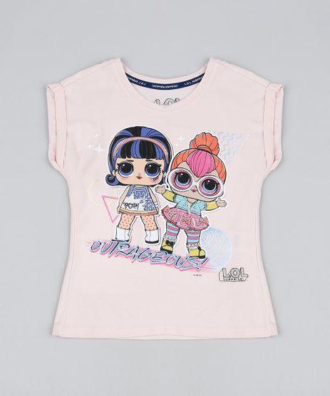 Blusa-Infantil-LOL-Surprise-com-Paetes-Manga-Curta-Rose-9905533-Rose_1