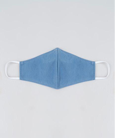 Mascara-de-Tecido-Reutilizavel-para-Protecao-Individual-Infantil-Azul-9950771-Azul_1