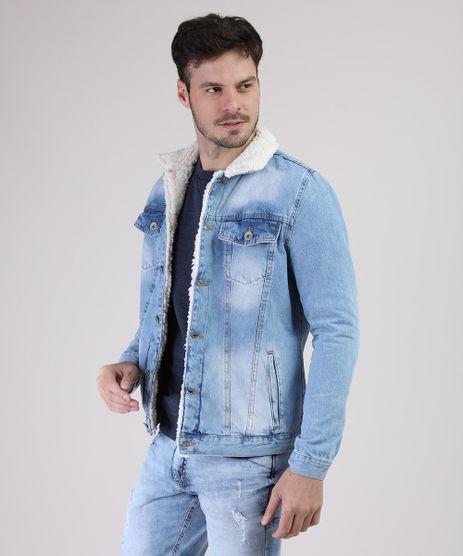 Jaqueta-Jeans-Masculina-com-Pelo-Azul-Claro-9554720-Azul_Claro_1