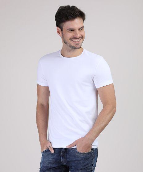 Camiseta-Masculina-Basica-com-Elastano-Manga-Curta-Gola-Careca-Branca-9209153-Branco_1