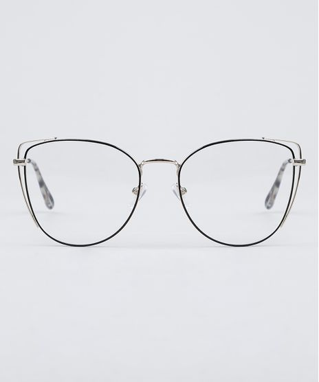 Armacao-para-Oculos-de-Grau-Feminina-Oval-Preto-9950446-Preto_1