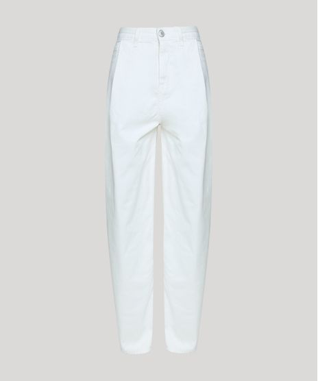 Calca-de-Sarja-Feminina-Mindset-Slouchy-Cintura-Super-Alta-com-Pregas-Off-White-9948349-Off_White_1