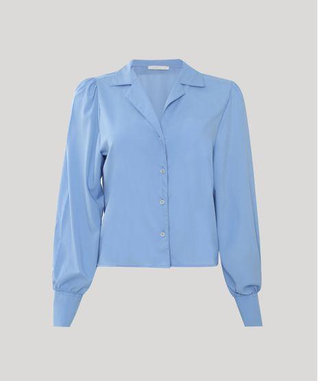 Camisa-Feminina-Ampla-Manga-Bufante-Azul-Claro-9943148-Azul_Claro_1