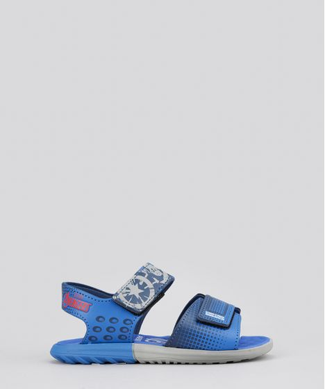 fedd15030d Sandalia-Papete-Grendene-Capitao-America-Azul-Royal-8626737- ...