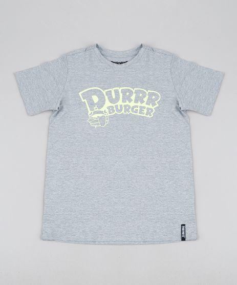 Camiseta-Juvenil-Durrr-Burger-Fortnite-Manga-Curta-Cinza-Mescla-9945953-Cinza_Mescla_1