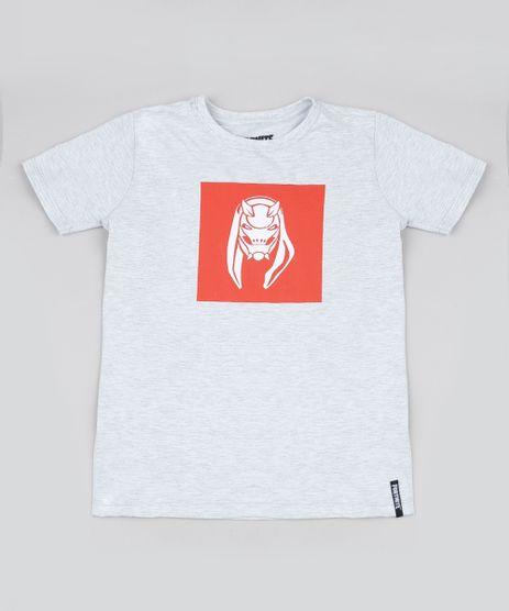Camiseta-Juvenil-Fortnite-Manga-Curta-Cinza-Mescla-9945949-Cinza_Mescla_1