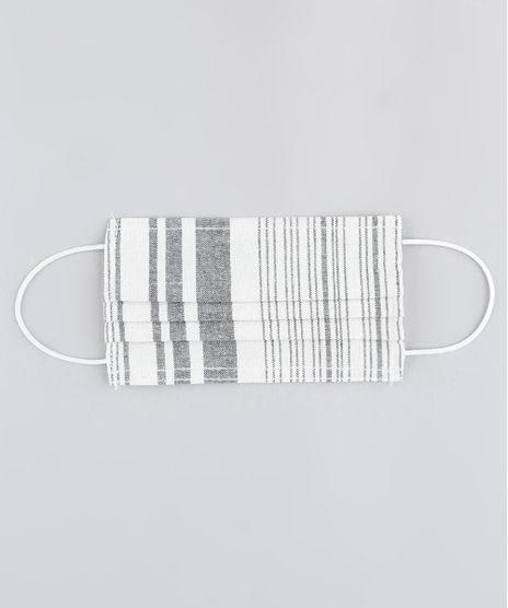 Mascara-de-Tecido-Reutilizavel-para-Protecao-Individual-Listrada-Off-White-9950633-Off_White_1