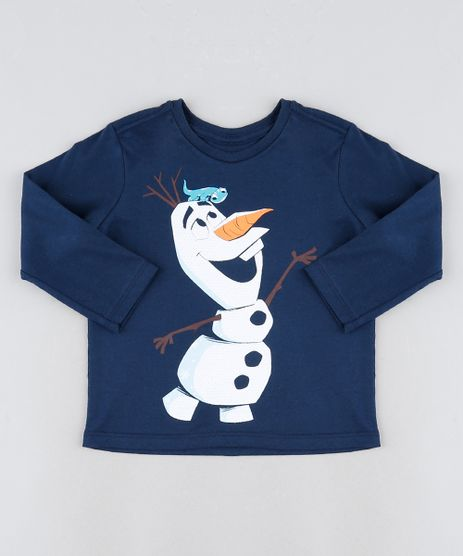 Camiseta-Infantil-Olaf-Manga-Longa-Azul-Marinho-9945027-Azul_Marinho_1
