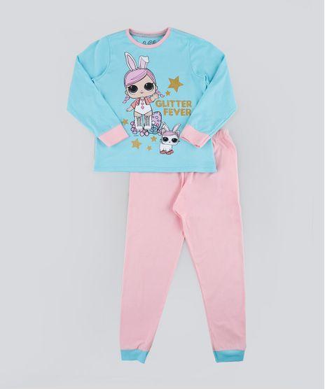 Pijama-Infantil-LOL-Surprise-Manga-Longa-Azul-Claro-9942759-Azul_Claro_1