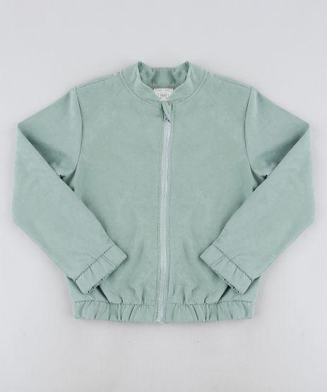 Jaqueta-Infantil-com-Ziper-e-Elastico-Verde-Claro-9916448-Verde_Claro_1