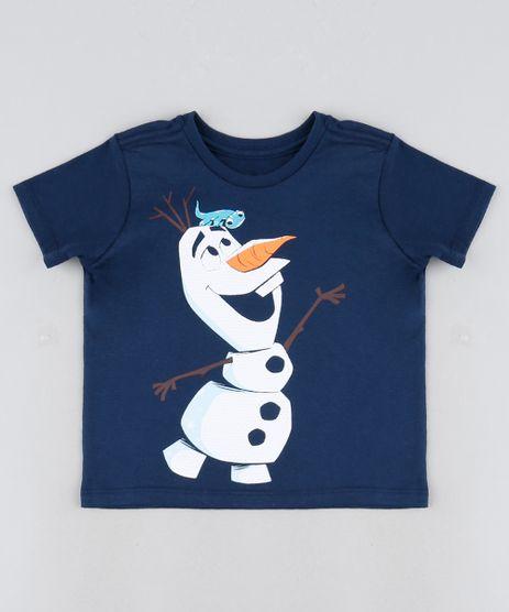 Camiseta-Infantil-Olaf-Manga-Curta-Azul-Marinho-9945028-Azul_Marinho_1