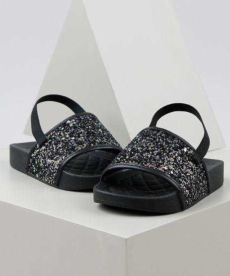 Chinelo-Slide-Infantil-Molekinha-com-Glitter-e-Elastico-Preto-9949103-Preto_1