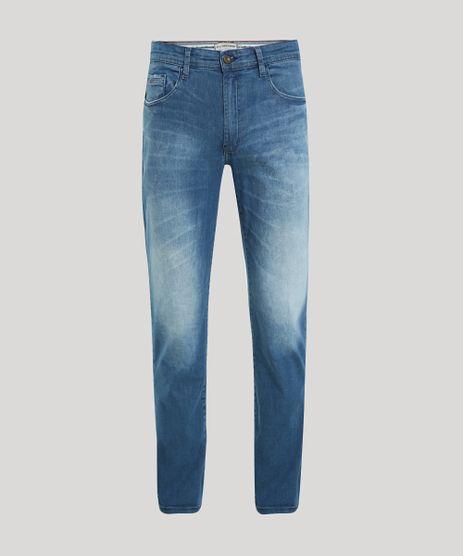Calca-Jeans-Masculina-Reta-Estonada-Azul-Escuro-9947743-Azul_Escuro_1