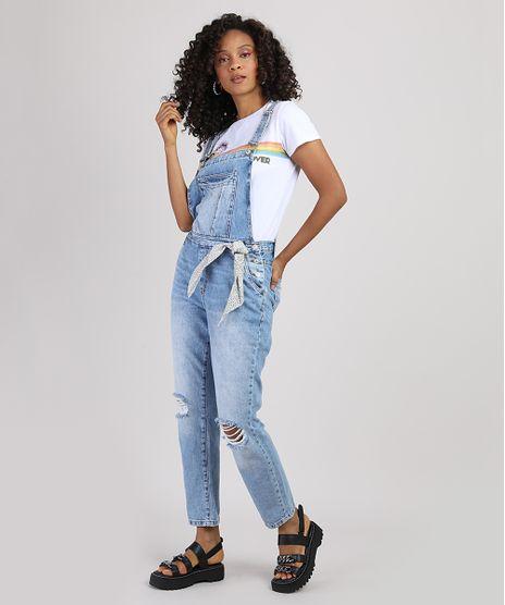 Macacao-Jeans-Feminino-Relaxed-com-Rasgos-e-Lenco-Azul-Claro-9946103-Azul_Claro_1