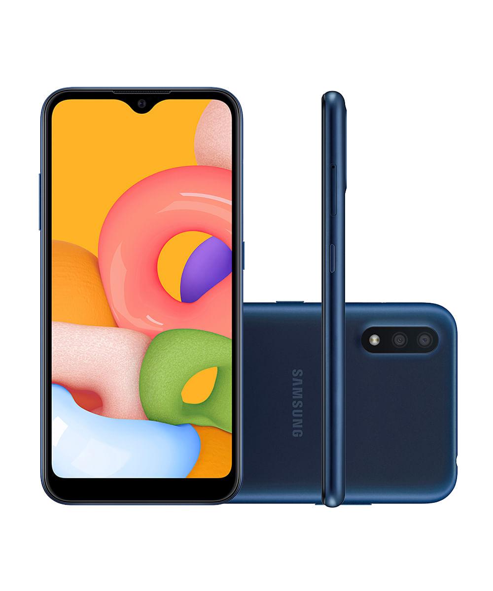 Smartphone Samsung SMA015 Galaxy A01 32GB Azul