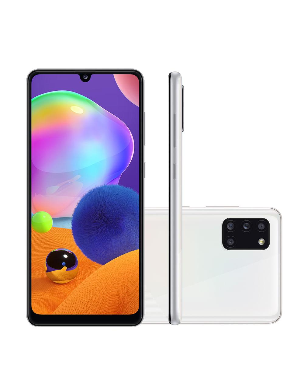 Smartphone Samsung SMA315 Galaxy A31 128GB Branco