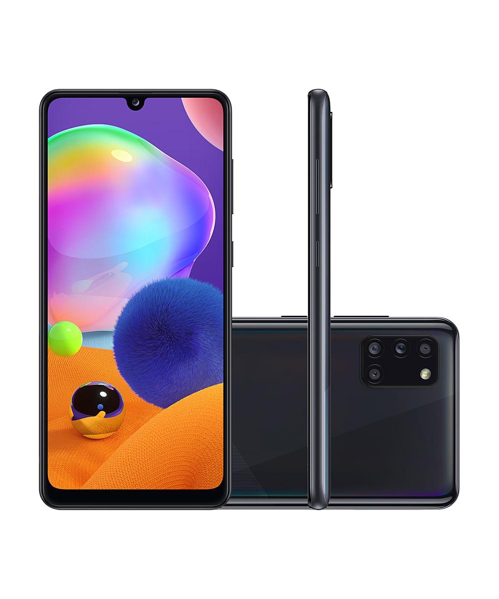Smartphone Samsung SMA315 Galaxy A31 128GB Preto