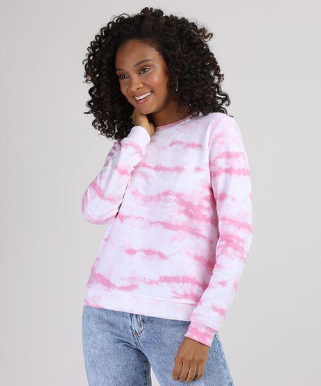 Blusao-de-Moletom-Feminino-Estampado-Tie-Dye-Decote-Redondo-Branco-9871716-Branco_1