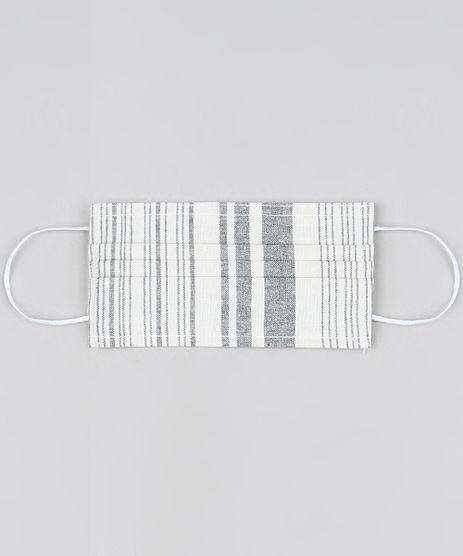 Mascara-de-Tecido-Reutilizavel-para-Protecao-Individual-Listrada-Off-White-9951298-Off_White_1