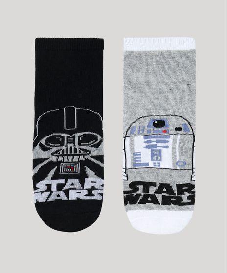 Kit-de-2-Meias-Infantis-Cano-Medio-Star-Wars-Multicor-9333637-Multicor_1