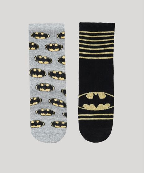 Kit-de-2-Meias-Infantis-Batman-Multicor-9144743-Multicor_1