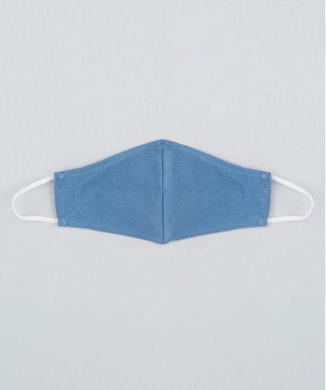 Mascara-de-Tecido-Reutilizavel-para-Protecao-Individual-Infantil-Azul-9950768-Azul_1