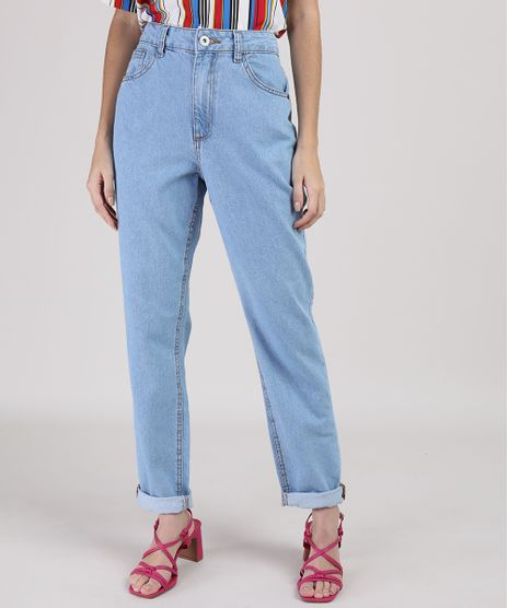Calca-Jeans-Feminina-Manu-Gavassi-Mom-Cintura-Alta-Azul-Medio-9204362-Azul_Medio_1