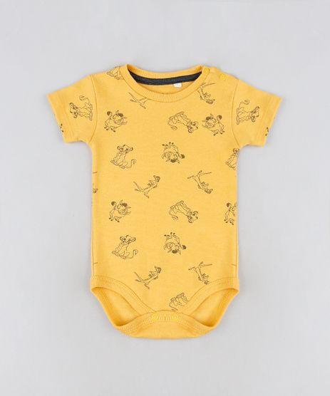 Body-Infantil-O-Rei-Leao-Manga-Curta-Amarelo-9942210-Amarelo_1