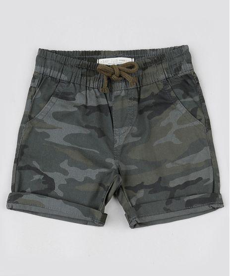 Bermuda-Infantil-Camuflada-com-Bolsos-Verde-Militar-9944011-Verde_Militar_1