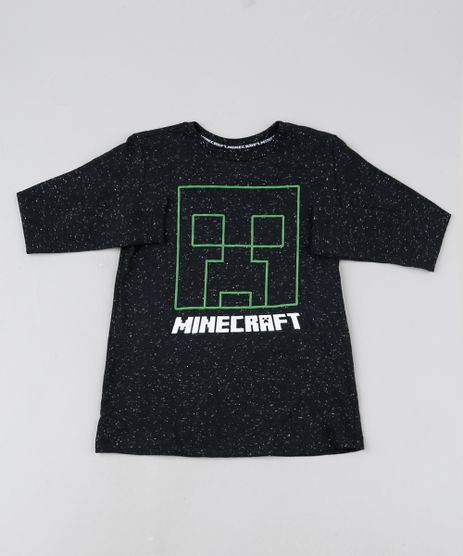 Camiseta-Infantil-Minecraaft-com-Relevo-Manga-Longa-Preta-9943198-Preto_1