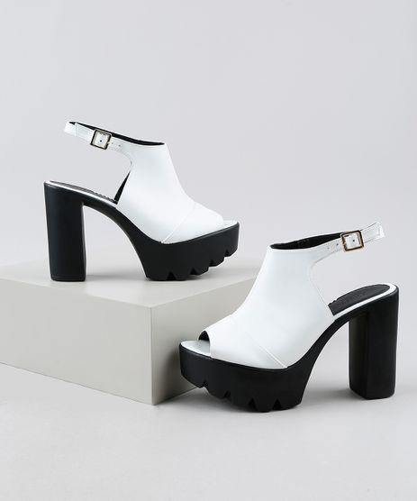 Sandal-Boot-Feminina-Oneself-Salto-Alto-Grosso-Tratorada-Branca-9949531-Branco_1