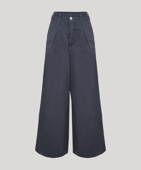 Calca-de-Sarja-Feminina-Mindset-Pantalona-Cintura-Super-Alta-com-Pregas-Chumbo-9950459-Chumbo_1