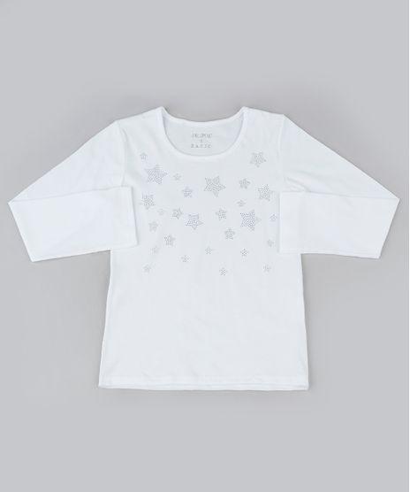 Blusa-Infantil-com-Estrelas-em-Strass-Manga-Longa-Decote-Redondo-Off-White-9945351-Off_White_1