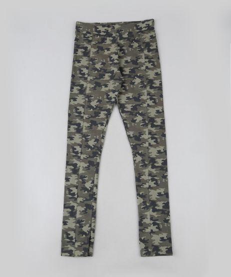 Calca-Legging-Juvenil-Camuflada-com-Recorte-Verde-Militar-9911945-Verde_Militar_1