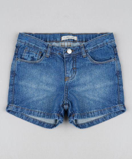 Short-Jeans-Infantil-Reto-Azul-Medio-9944368-Azul_Medio_1