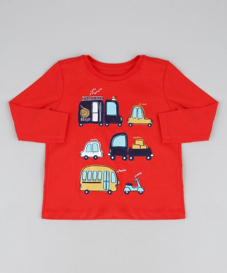 Camiseta-Infantil-Carrinhos-Manga-Longa-Gola-Careca-Vermelha-9944008-Vermelho_1