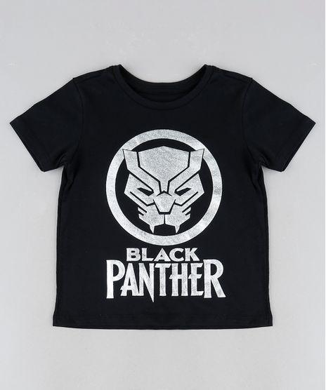 Camiseta-Infantil-Pantera-Negra-Manga-Curta-Gola-Careca--Preta-9943222-Preto_1