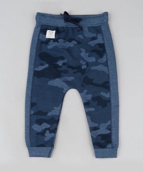 Calca-de-Moletom-Infantil-Saruel-Estampada-Camuflada-Azul-Marinho-9886494-Azul_Marinho_1