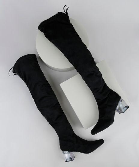 Bota-Feminina-Oneself-Over-The-Knee-em-Suede-Salto-Baixo-em-Acrilico-Preta-9948250-Preto_1