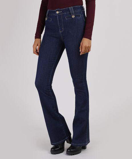 Calca-Jeans-Feminina-Sawary-Flare-Cintura-Alta-Azul-Escuro-9945287-Azul_Escuro_1