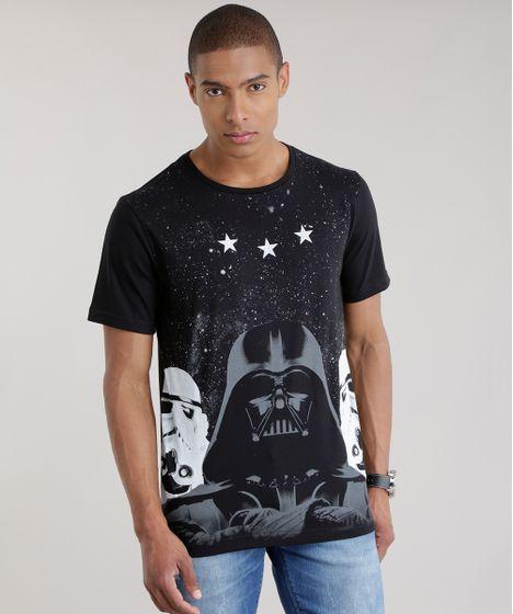 Camiseta-Star-Wars-Preta-8703750-Preto 1 ... aab33285c80ed