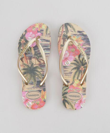 Chinelo-Havaianas-Estampado-Floral-Bege-8726590-Bege_1