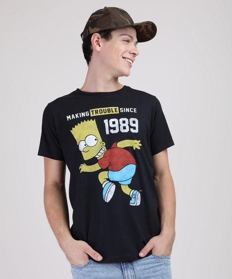 Camiseta-Juvenil-Bart-Simpson-Manga-Curta-Preta-9873464-Preto_1