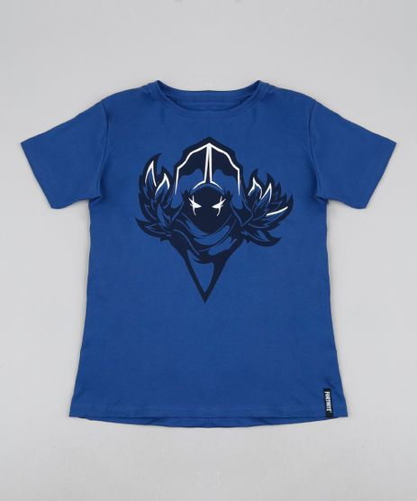 Camiseta-Juvenil-Corvo-Fortnite-Manga-Curta-Azul-9945946-Azul_1