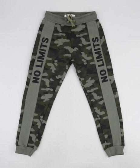 Calca-de-Moletom-Infantil-Jogger-Estampada-Camuflada-com-Recorte-Verde-Militar-9945151-Verde_Militar_1